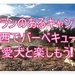 ドッグランのあるキャンプ場!関西でバーベキューを愛犬と楽しもう!