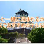 ペットと一緒に泊まれるホテル!大阪でおすすめのホテル5選!!